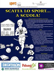 Locandina Scatta lo Sport a Scuola 2011-2012