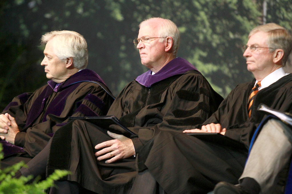 Sen  Chambliss at Mercer University Graduation | Saxby | Flickr