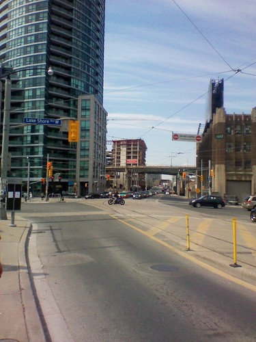 Bathurst and Lake Shore, looking north (2)