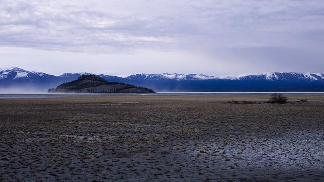 Kluane mud flats