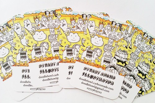 My New Business Cards. by DoodleHowls (Horsey McBoo)