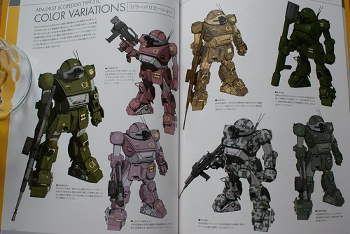 Armored Trooper VOTOMS Master Book - SCOPEDOG 21C - 2