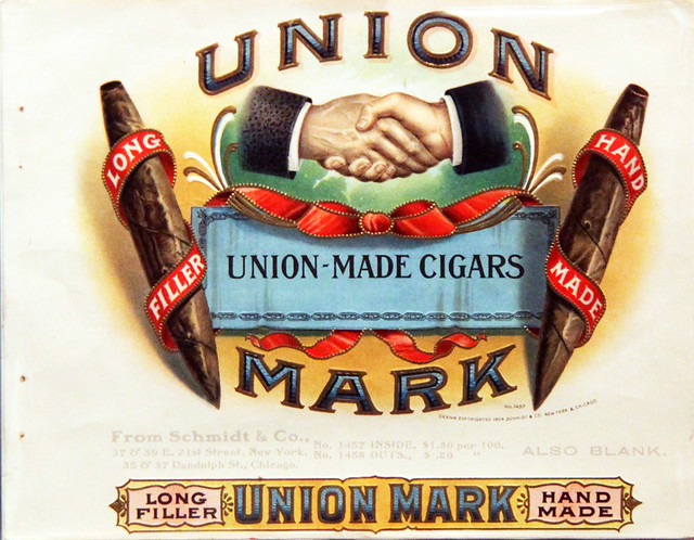 Union-made cigar advertisement - Smithsonian Museum of American History - 2012-05-15