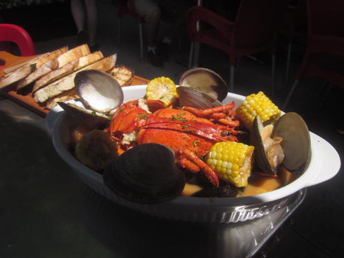 Shellfish Feast at Bier Markt in Toronto,