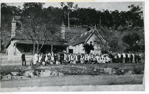 A6678-v-021 - Wollombi Public School, c. 1880, NSW, Australia