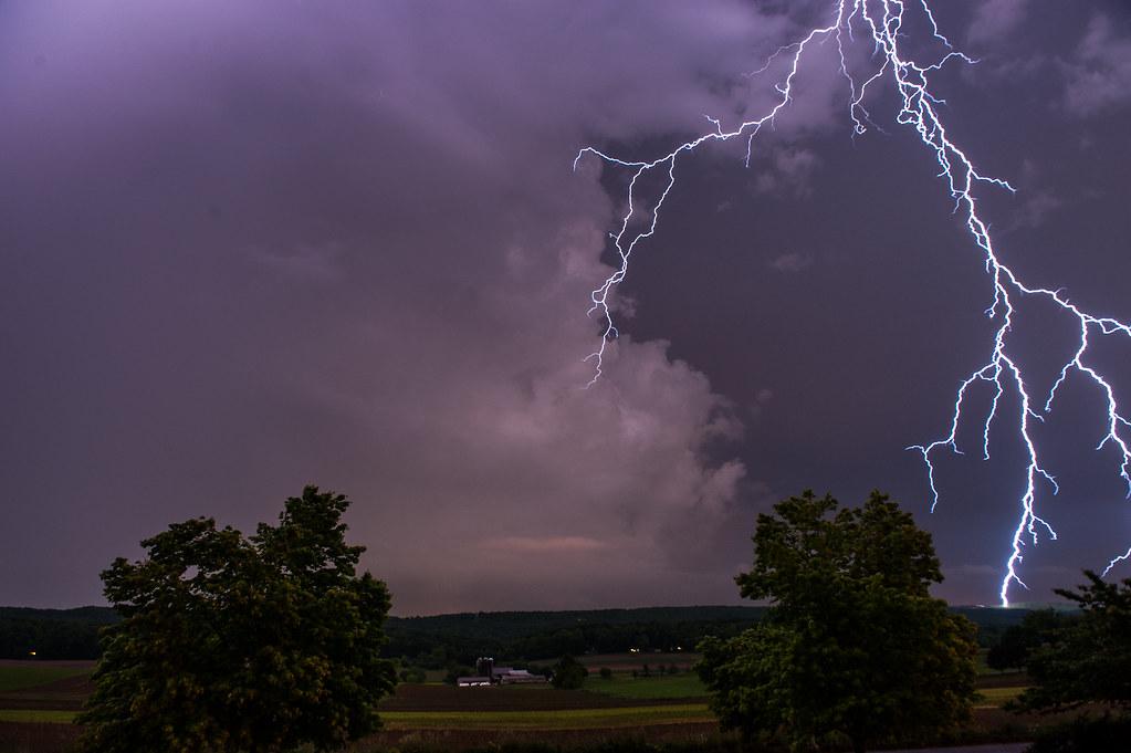 Lightning Strike, Morgantown Pa