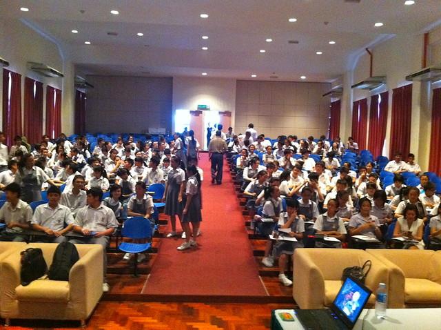 东马 Sabah 巡回演说: 亚庇建国独中 21/05/2012