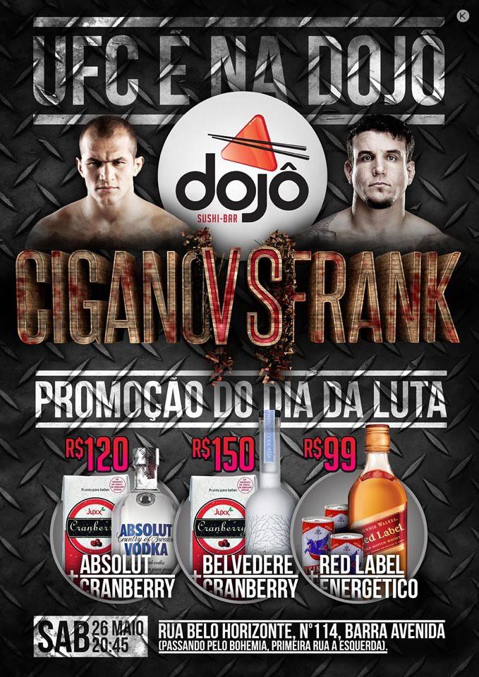 Flyer UFC 146 - Dojo temakeria