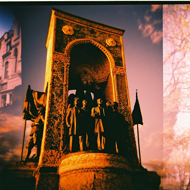 Monument on Taksim Square