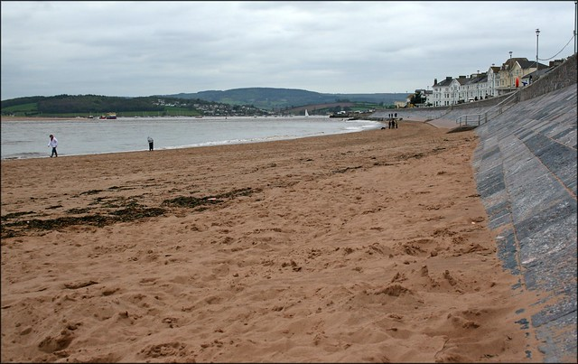 The beach at Exmouth