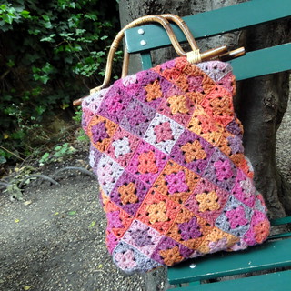 Sac Mini Granny en Holst Garn