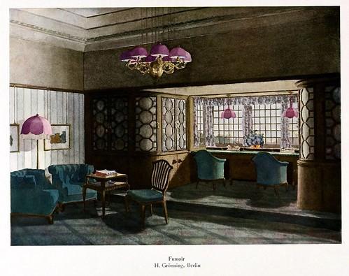 005-120 intérieurs en couleurs…-Principios siglo XX