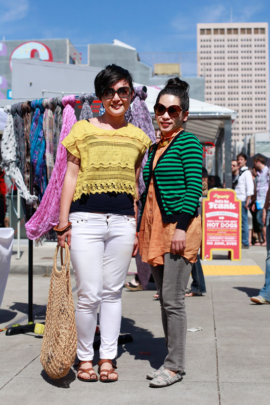 y3Meena san francisco street fashion style