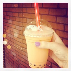 Bubble tea is one of my favorite things. #unusual #photoadaymay