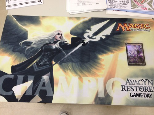 Avacyn Restored Game Day Champion Play Mat