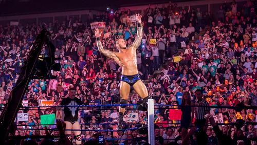 Randy Orton at Smackdown taping in London 17th April 2012
