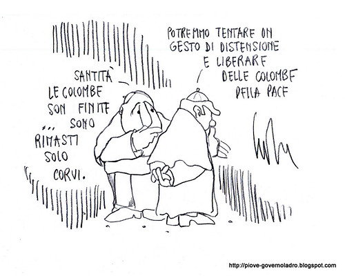 Colombe e Corvi by Livio Bonino