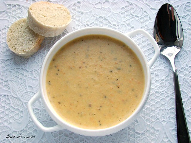 крем-суп из картофеля, моркови и сельдерея 1