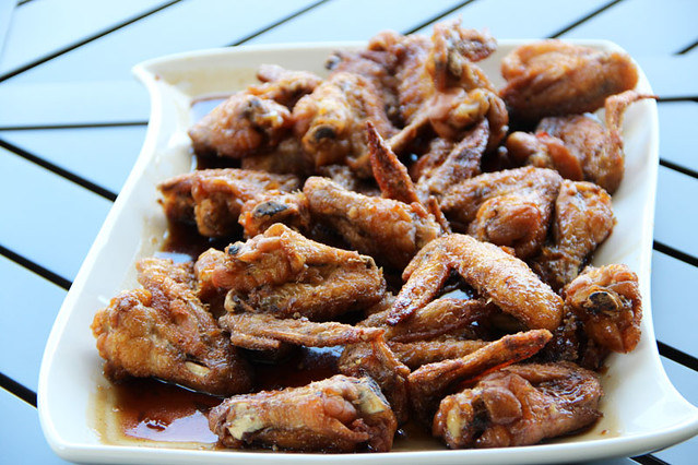 General Tsao's chicken wings - Pumkin