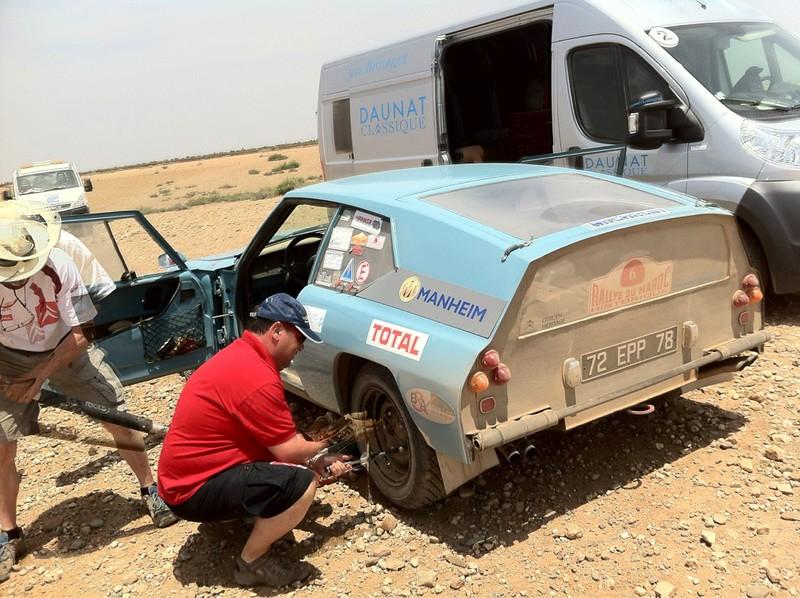 Rallye du Maroc Historique 2012