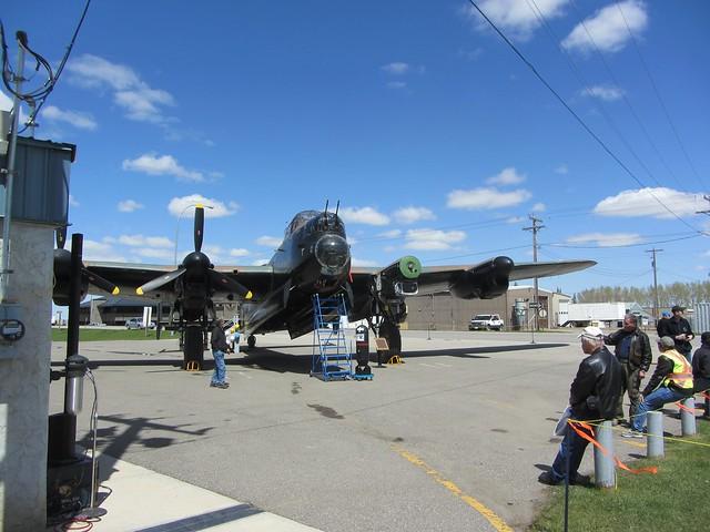 Lancaster Bomber at Nanton