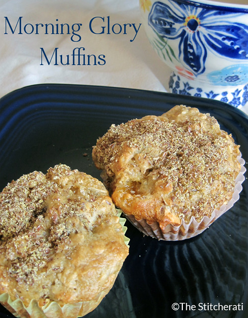 Breakfast on the Go: Morning Glory Muffins - The StitcheratiThe ...
