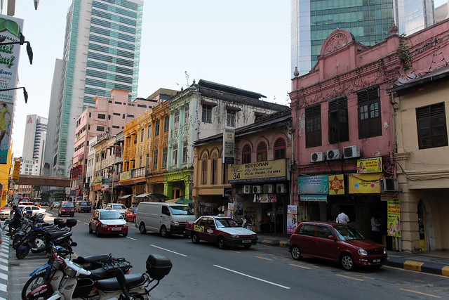 KL old-school street