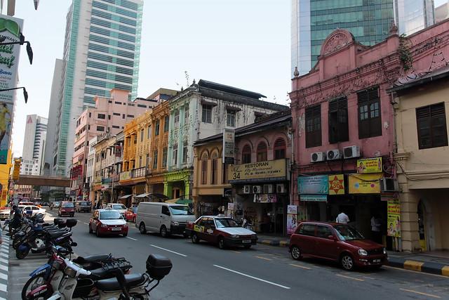 KL old-school street