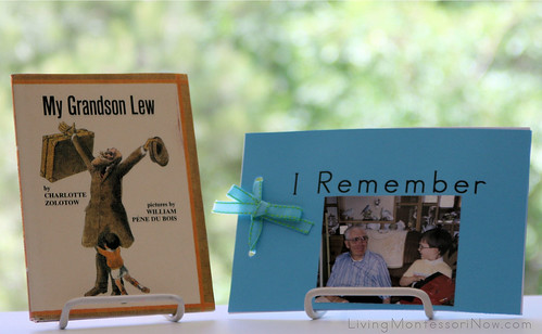 "My Grandson Lew and ""I Remember"" Book"