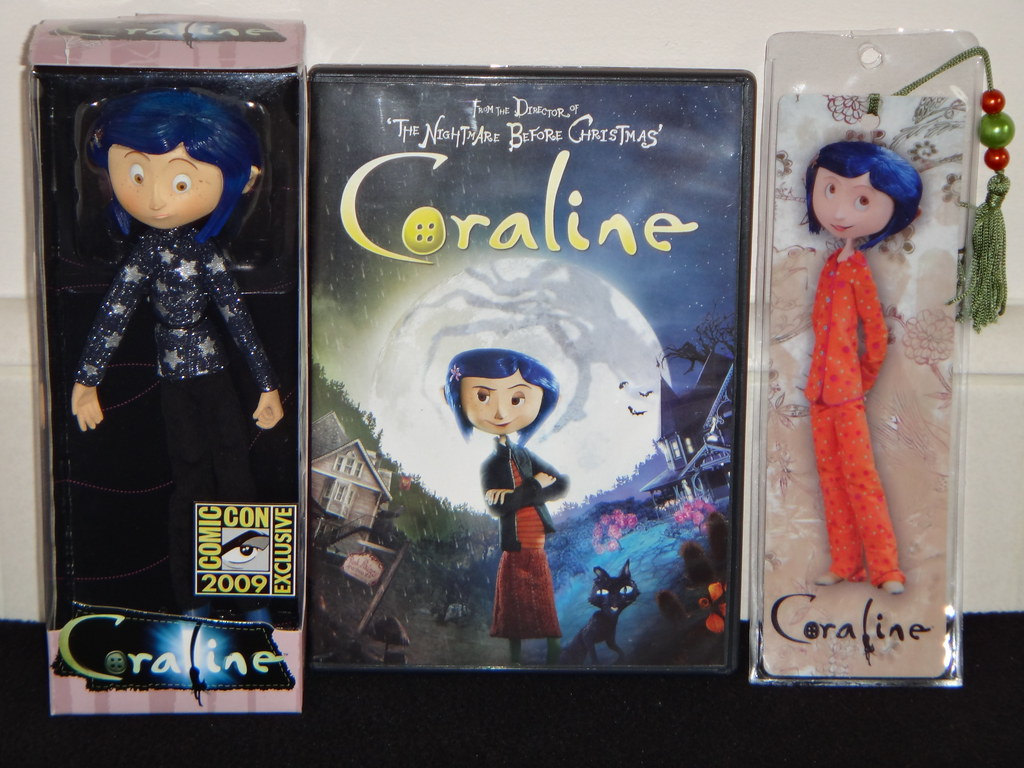 NECA SDCC Coraline Bendy Doll - First Look - Front View