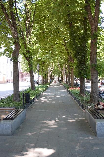 Primorsky Boulevard of Odessa