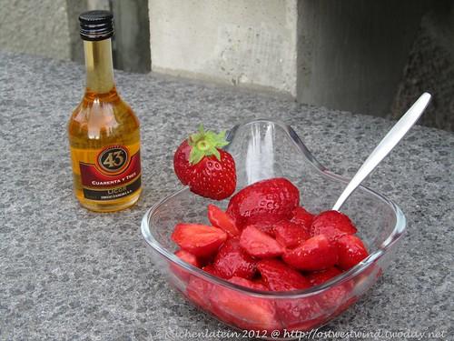 marinierte Erdbeeren spanische Art