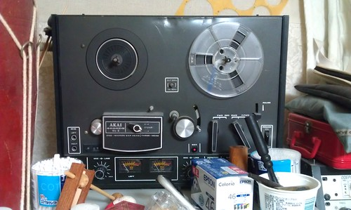Akai 4000DS mk2 Reel to Reel by Kanda Mori