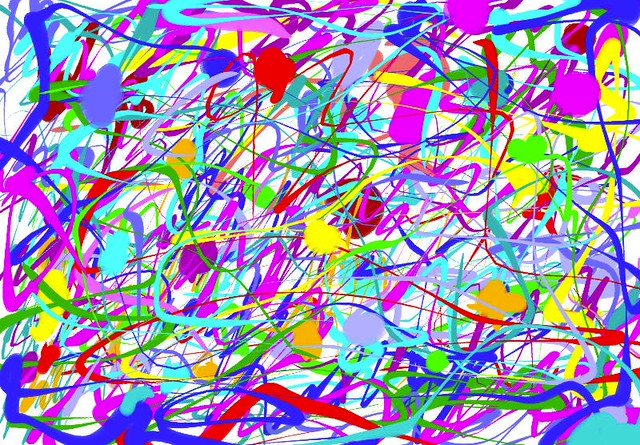 Make Your Own Jackson Pollock