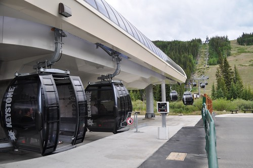 Keystone Resort's Gondola Up North Peak