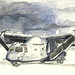 MV-22 Osprey In Watercolor
