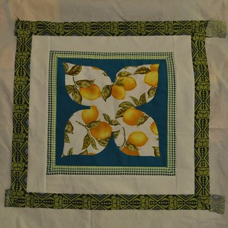 Dogwood Lemons Center Panel