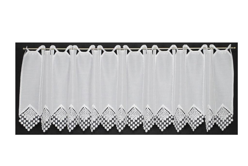 8 cm breite blickdichte scheibengardine 30 cm hoch. Black Bedroom Furniture Sets. Home Design Ideas
