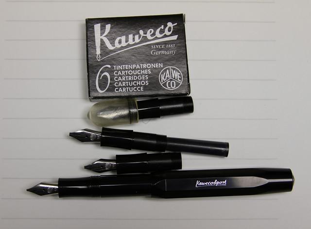 Gourmet Pens Review Kaweco Calligraphy Pen Set Black