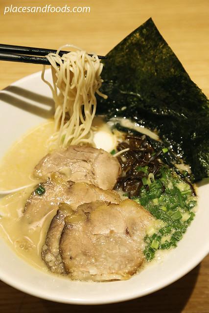 ippudo original tonkotsu shiromaru special