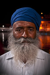 Father, Golden Temple, Amritsar, Punjab, India