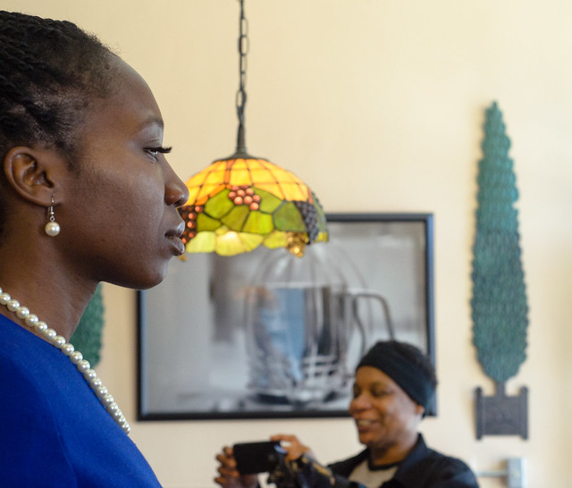 Coffee Talk with Mayoral Candidate Amara Enyia