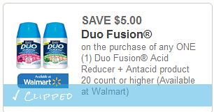 Free Duo Fusion at Walgreens