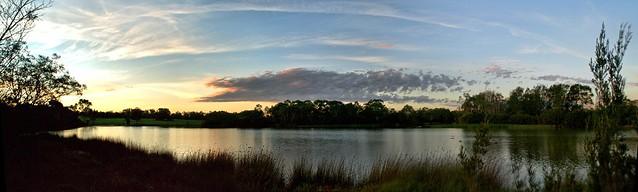 #127 Jells Park Lake Sunset