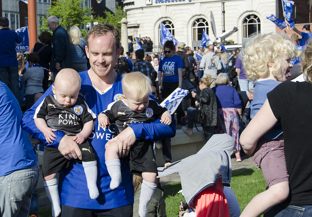 Young LCFC fans