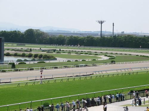 京都競馬場の淀の坂