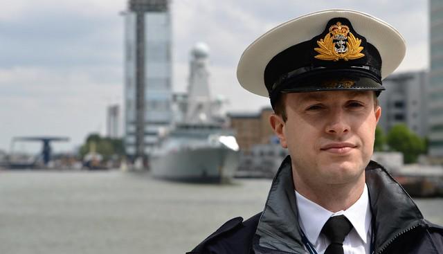 HMS Duncan (72)  @ West India Dock 21-05-16