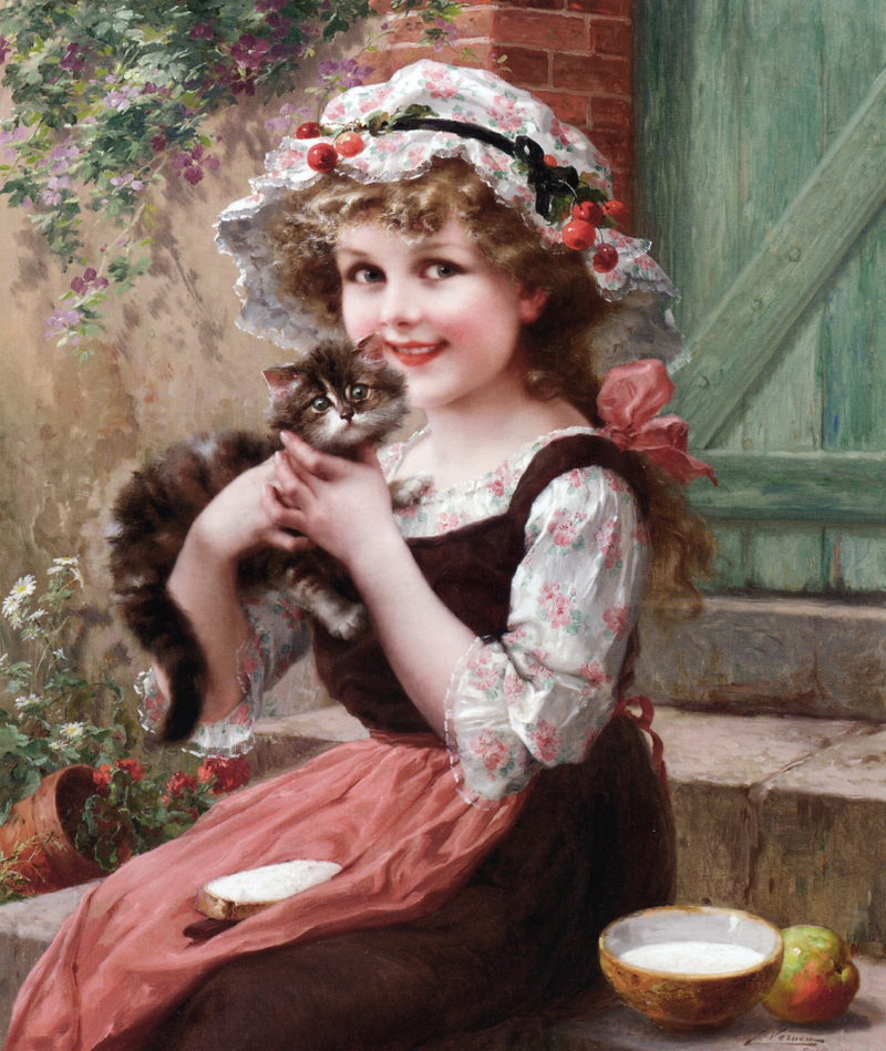 The Little Kittens by Emile Vernon, 1919