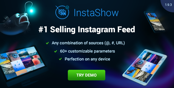 Instagram Feed for WordPress - InstaShow v1.9.5