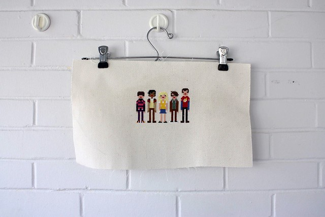 Big Bang Theory Cross Stitch